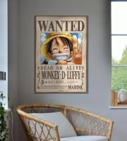 one poster wanted monkey d luffy