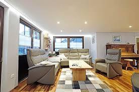 holzdecke im wohnzimmer mit plameco renoviert siegen
