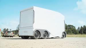 This Electric, Self-driving Prototype Truck Is Like A Giant RC Car ...