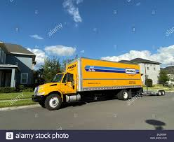 100 Penske Semi Truck Rental Stock Photos Stock Images Alamy