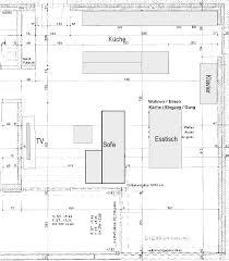grundriss wohnzimmer küche entrée grundriss hifi forum