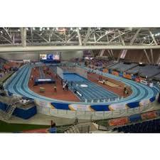 Mondo Rubber Flooring Italy by Modultrack Portable Indoor Banked Running Tracks U2013 Mondo Sport Usa