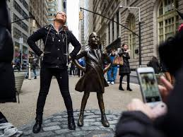 Fearless Girl Statue Moving Out Of Charging Bulls Way