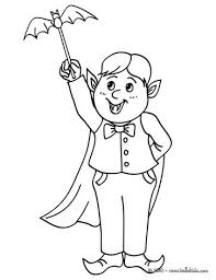 Witch And Flubber Darcula Costume Coloring Page