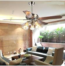 Living Room Ceiling Fan With Light Battery Operated Lights For New