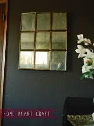 diy multi pane antique mirror
