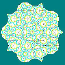 penrose tiling generator mac 32 best tilings images on geometry tiles and