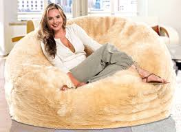 Bean Bag Giant Furry Chair Chairs Put Cheap Bags