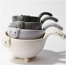 cat merchandise the pet cat measuring cup set