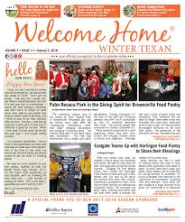 Welcome Home Winter Texan : Vol 3 Issue 11 : January 3, 2018 By ...