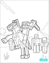 Minecraft Coloring Sheets Pages For Kids To Print Printable Tree Images