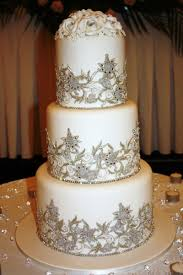 Cakes of Your Dreams Indian Lace Wedding Cake