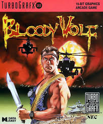 Bloody Wolf Box Shot for TurboGrafx 16 GameFAQs