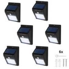 detecteur de mouvement exterieur eclairage 2 le solaire 6 led