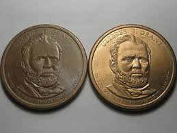 Presidential Dollar Ulysses S Grant Weird Brown Color
