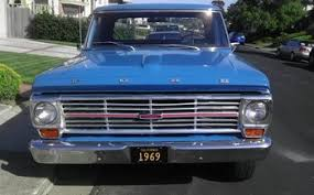1969 Ford F100 2WD Regular Cab For Sale 100784466
