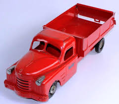 100 Structo Toy Truck Lot VINTAGE STRUCTO TOYS RED PRESSED STEEL DUMP TRUCK Proxibid
