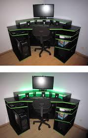 ordinateur de bureau pour gamer bureau pour gamer le des geeks et des gamers