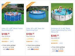 Walmart HOT Pool Clearance Deals