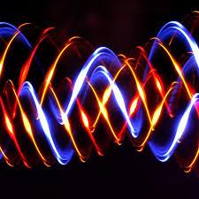 4 light Pumpkin LED Orbit Light Show