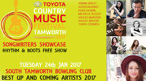 TAMWORTH COUNTRY MUSIC FESTIVAL 2017 SONGWRITERS SHOWCASE