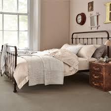 Image Of Vintage Metal Bed Frame Style