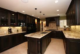 kitchen tile backsplash ideas with dark cabinets home design ideas
