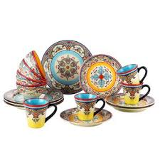 Zanzibar 16 Piece Dinnerware Set Service For 4