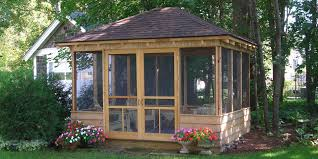 Stunning Screened Gazebo Photos by Unique Screened In Gazebos Search A Bit Of This A Bit