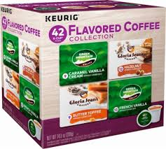 Keurig Green Mountain Flavored Coffee Collection K Cup Pods 42 Pack