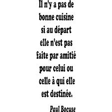 proverbe cuisine humour sticker citation de paul bocuse stickers citation texte