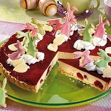 sauerkirsch torte mit vanillepudding