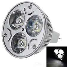 mr16 3w 174lm cold white light high power 3 led cup bulb 12v