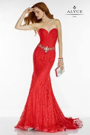 alyce paris 6502 daring lace prom gown french novelty