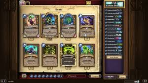 hearthstone knights of the frozen throne druid deck builds youtube