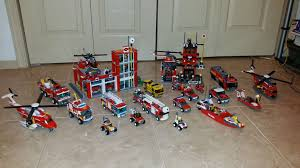 I've Been Collecting These Lego Fire Fighting Sets Since 2005. Hope ... Lego City Fire Ladder Truck 60107 Walmartcom Brigade Kids Pin Videos Images To Pinterest Cars 2 Red Disney Pixar Toy Review Howto Build City Station 60004 Review Boxtoyco Moc 60050 Train Reviews Lego Police Buy Online In South Africa Takealotcom Undcover Wii U Games Nintendo Playing With Bricks My Custom A Video Update 60002 Amazoncouk Toys Airport Remake Legocom