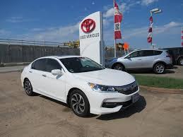 Used 2016 Honda Accord EX Sedan 32742 37 77065 Automatic Carfax 1 ...