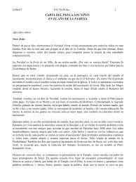 Carta A Los Niños