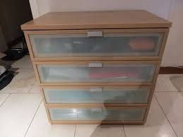 Ikea Aneboda Dresser Measurements by Ikea Chest Of Drawers Glass Fronted In Westminster London