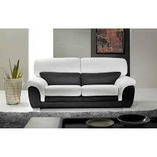 canape blanc noir canapé blanc et noir intérieur déco