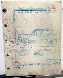 1987-88 Jeep J Series Wagoneer Truck Dealer Parts Catalog Book PC 15 Morris Jb J Austin 101 Gpo Van Used Tcm Fa15bj Electric Forklift Trucks Year 2006 For Sale B Motors Wood River Ne New Cars Trucks Sales Service 1972 Amc Jeep Truck Sales Brochure J2500 J2600 J4500 J4600 J4700 1980 White Road Boss 2 Stock P266 Hoods Tpi 1990s Freightliner Classic Young Canton Oh Flickr 2007 48 Tipper Trailer Kens Repair 1999 Ford F350 Box Uhaul Airport Auto Rv Pawn Js Expert Automotive Over 69 Years Of Combined Service Rays Elizabeth Nj Inventory