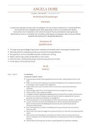 Housekeeping CV Examples & Templates | VisualCV Housekeeping Resume Sample Monstercom Description For Of Duties Hospital Entry Level Hotel Housekeeper Genius Samples Examples Free Fresh Summary By Real People Head 78 Private Housekeeper Resume Sample Juliasrestaurantnjcom The 2019 Guide With 20 Example And Guide For Professional Housekeeping How To Make