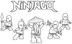 Lego Ninjago Coloring Pages Page