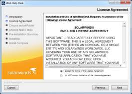 Solarwinds Web Help Desk Support by Installing Web Help Desk On A Microsoft Windows System