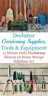 100 Www.home And Garden How To Declutter Ing Supplies Tools Equipment