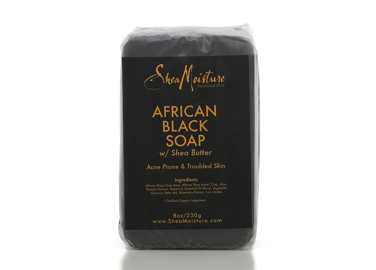 Shea Moisture African Black Soap - 8 oz