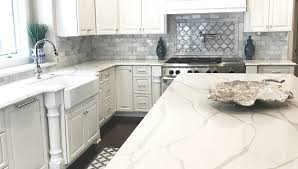 Kitchen Countertops And Backsplash Pictures Best Marble Look Quartz Countertops Quartz Kitchen