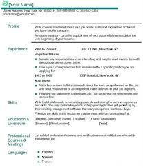Gallery Of Lvn Resume Template Top 25 Best Resume Examples Ideas On