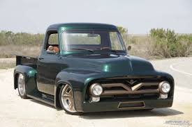 100 F100 Ford Truck Chasing The Blues Away With A Green Machine DrivingLine