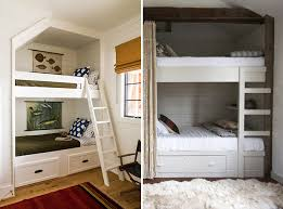 small space solution built in bunk beds for rooms